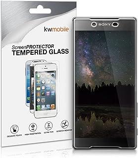kwmobile Pellicola Protettiva in Vetro Temperato OPACA e ANTIRIFLESSO con effetto anti-impronte compatibile con Sony Xperi...