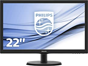 "Philips 223V5LHSB/00 - Monitor de 21,5"" (HDMI, Full HD"