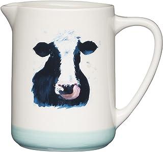 Apple Farm Ceramic Milk Jug, 500ml, Tagged
