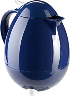 Leifheit 28346 Columbus Hot and Cold Beverage Insulated Carafe, Blue