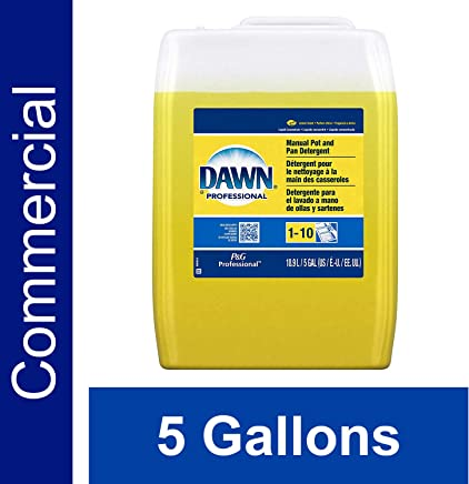 Dawn Professional Bulk Pot, Pan, and Dish Liquid Dishwashing Soap Detergent Degreaser for Commercial