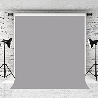 Kate 10x10ft Grey Photography Backdrop Solid Pure Portrait Photo Background for Photographer Studio Prop