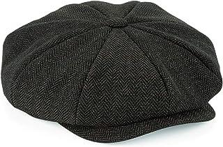 ASVP Shop Newsboy Cap - Flat Cap - Baker Boy Hat - Gatsby Men's Hat - Peaky B Shelby Cap