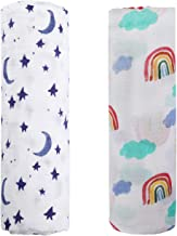 rainbow baby swaddle blanket