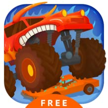 Monster Truck Go Free - Racing & Driving Simulator Games for Kids