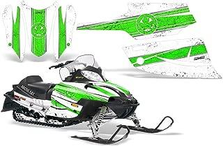 CreatorX Arctic Cat Firecat Sabercat 2003-2006 Snowmobile F5 F6 F7 Graphics Kit Canadian Flyer Green White