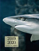 2019 2020 Sea Sharks 15 Months Daily Planner: Academic Hourly Organizer In 15 Minute Interval; Appointment Calendar With Address Book & Note Section; Monthly & Weekly Goals Journal With Quotes