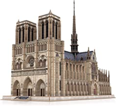 CubicFun 3D Brain Teaser Puzzles for Adults Large Challenge French Cathedral Architecture..