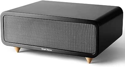 Elegant Wireless Bluetooth Speaker, Design Simple and Generous, Portable Wood Speaker Super Bass Wooden Bluetooth Speaker with HiFi Original Stereo Sound