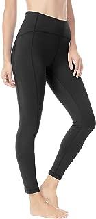 QUEENIEKE Women 25 Inches Yoga Leggings Sports Mid-Waist Tights 7/8 Length Pants 70824