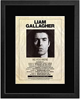 Stick It On Your Wall Liam Gallagher – como You were Tour 2017 Mini Póster – 40,5 x 30,5 cm