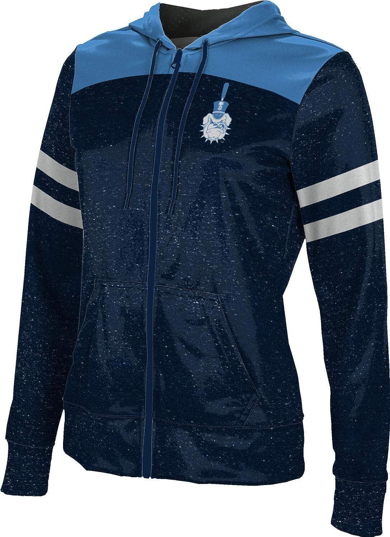 ProSphere The Citadel College Girls' Zipper Hoodie, School Spirit Sweatshirt (Gameday)