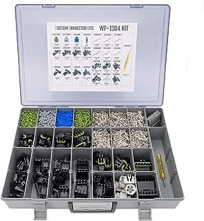 Delphi Weather Pack Connector Kit WP-1104: Sealed Weatherproof Automotive Electrical Connectors 20-12 Gauge 1104 Piece Kit