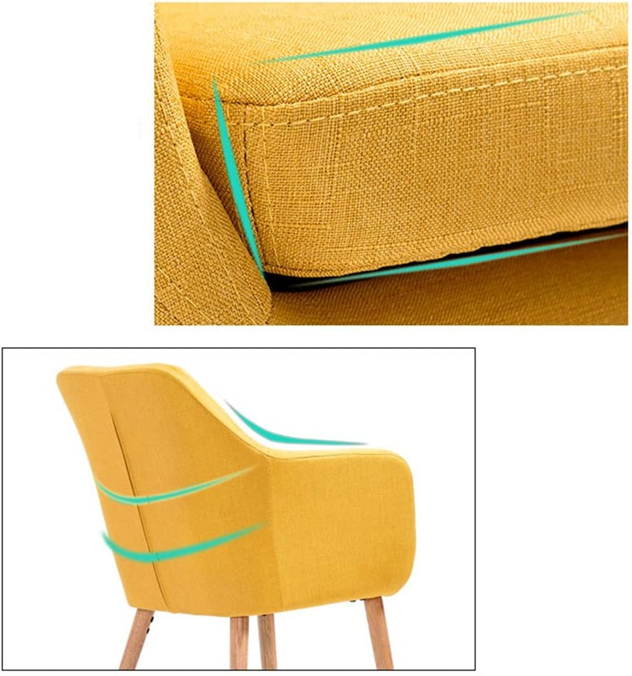Chaise de salle à manger en bois massif européen, chaise d'étude à domicile chaise de café décontracté chaise de bureau à dos (Couleur : Gray) Gray