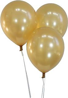 "Creative Balloons 12"" Latex Balloons - Pack of 144 Piece - Metallic Gold"