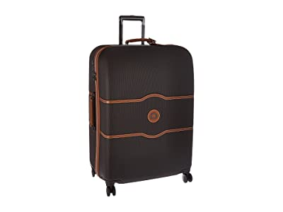 Delsey Chatelet Hard 28 Spinner Trolley (Chocolate) Luggage