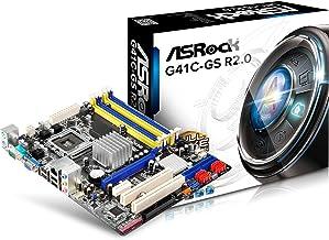 ASRock G41C-Gs R2.0 - Placa base (LGA 775 Intel G41+ ICH7 GLAN/VGA 2xDDR3 2xD)