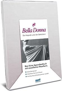 Bella Donna Drap-housse en jersey, 3 % élasthanne, 0520 Silber, 180 cm x 200 cm