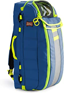 StatPacks G3 Tidal Volume Blue, EMS Oxygen Backpack, Regular and Jumbo D Size Cylinders, Quick, Easy, Comfortable Carry for EMS, Police, Firefighters