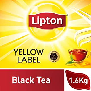 Lipton Yellow Label Black Tea Loose, 1.6Kg