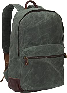 Hynes Eagle Vintage Waterproof Backpack Waxed Canvas Backpack 20 Liter