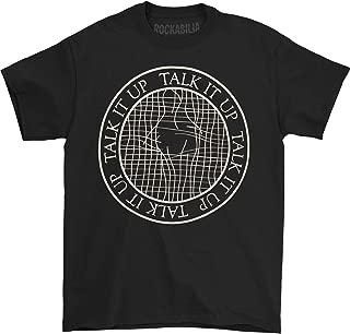 Men's Tennis Court T-Shirt Black