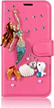 Alcatel A3 XL Case,Gift_Source Folio Flip Stand Feature Cover PU Leather Wallet Crystal Rhinestone Bling Shiny Case Build-...