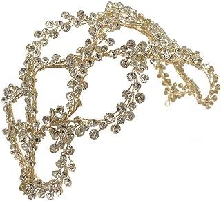ROSEEDEN Handmade Rhinestone Headpieces Crystal Bridal Hair Accessories Wedding Head Pieces for Bride and Bridesmaids