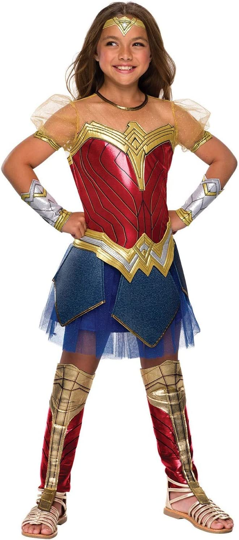 Girls Justice League Premium Wonder Costume