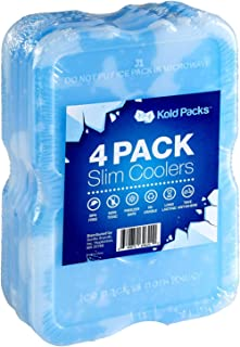 KoldPacks - Reusable Ice Packs, Long Lasting Perfect Lunch Boxes & Lunch Bags