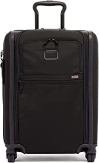 TUMI - Alpha 3 Continental Expandable 4 Wheeled Carry-on Luggage - 22 Inch Rolling Suitcase for Men and Women - Black