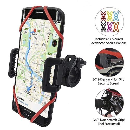 311a4eb904a Anti-Shake Universal Bike Phone Holder Mount for