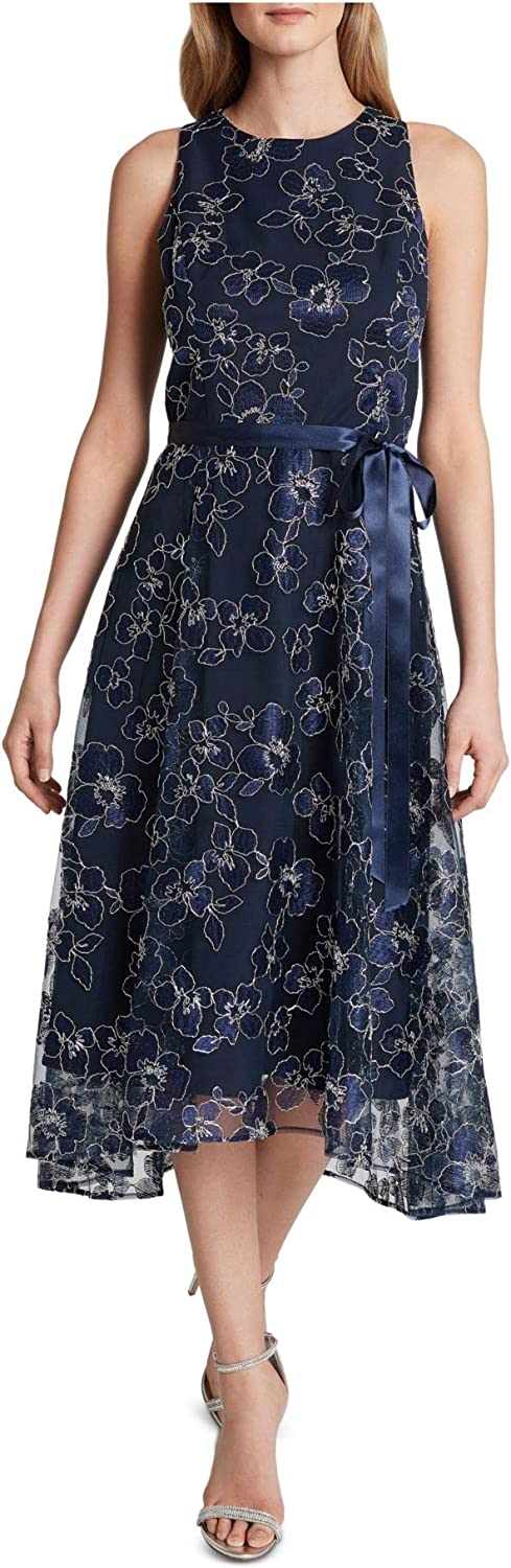 Tahari ASL Women's Sleeveless Fit and Flare Gown