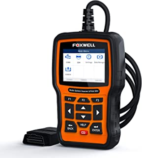 FOXWELL NT510 Elite Obd2 Car Code Reader Vehicle Diagnostic Scan Tool All Function Scanner for Buick/Chevrolet/Cadillac/GMC Reset with EPB SAS ABS Oil EPB[New Version]