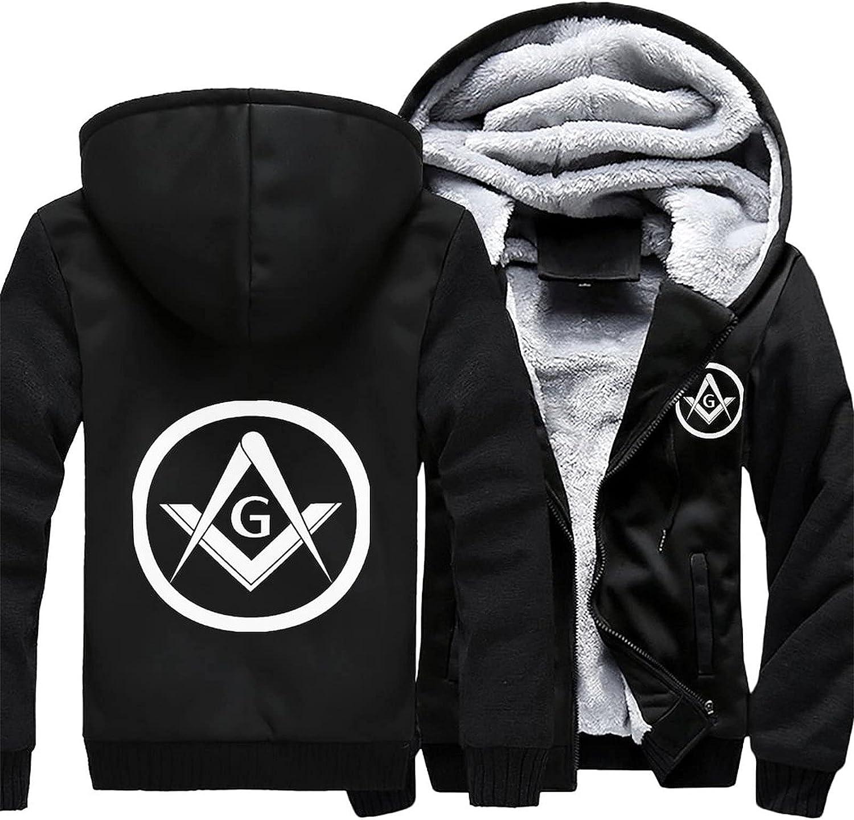 Freemason Atlanta Mall Logo Men's hoodie fleece winter jacket warm In a popularity