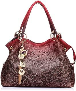 BBPPDD Classic Fashion Tote Handbag Leather Shoulder Bag Perfect Large Tote