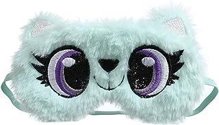 Sömnmask ögonmask ögonskugga naturlig sovande ögonlapp söt katt sovmask kvinnor mjuk ögonbindel resa ögonskydd LG