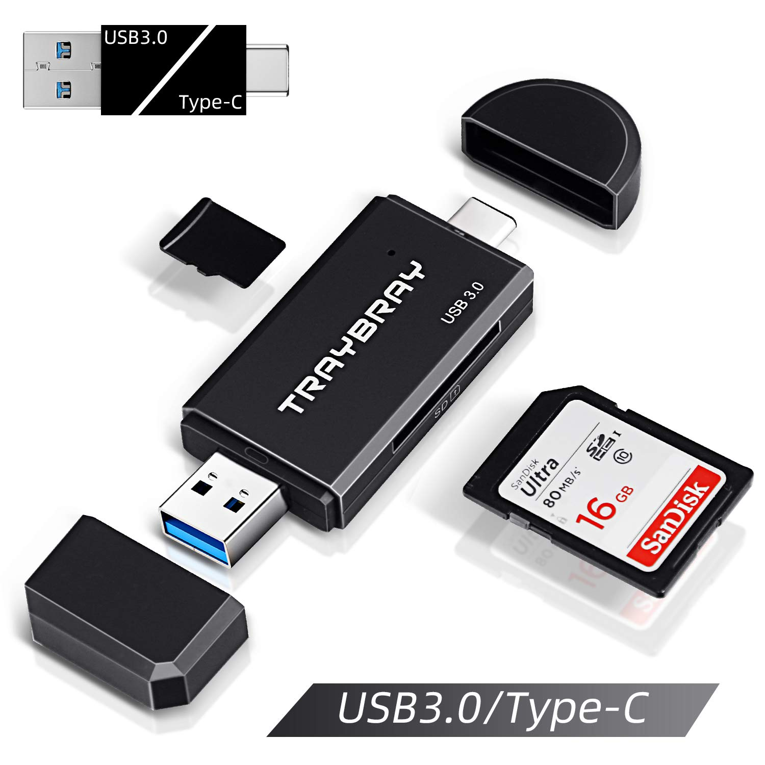PRO USB 3.0 Card Reader Works for Samsung Galaxy J7 Pro Adapter to Directly Read at 5Gbps Your MicroSDHC MicroSDXC Cards