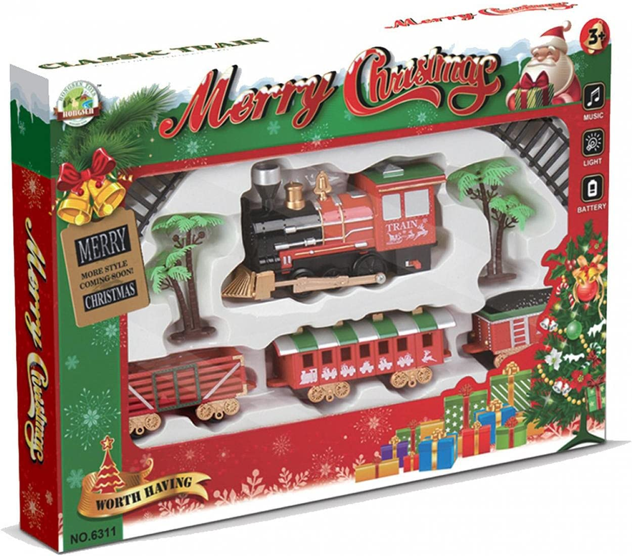 Mini Electric Train Fees free 35% OFF Set Toys for Boys and Christmas Girls