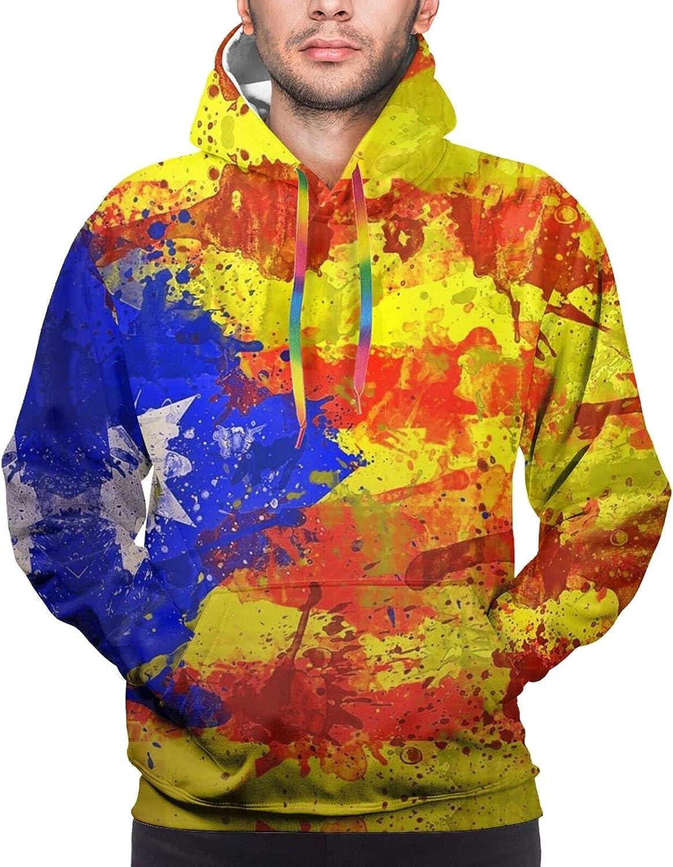 Hoodie For Teens Boys Girls Catalonia Flag 3d Printed Hooded Sweatshirt