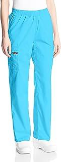 Dickies womens 86106 Signature Elastic Waist Scrubs Pant Medical Scrubs Pants - blue - XX-Small Petite