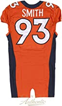 Quanterus Smith Game Worn Denver Broncos Jersey and Pant Set From 10/23/2014 vs the San Diego Chargers ~Limited Edition 1/1~ - Panini Authentic - Panini Certified