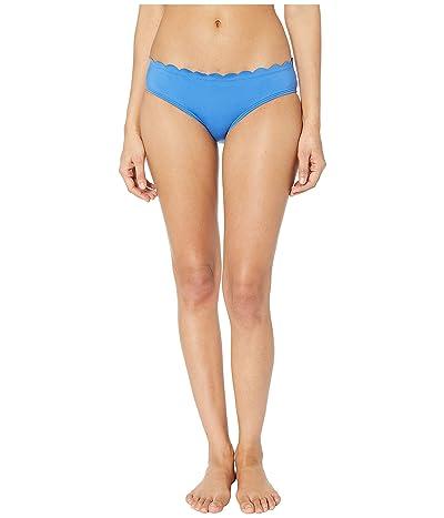 Kate Spade New York Core Solids #79 Scalloped Hipster Bikini Bottom (Wild Cornflower) Women