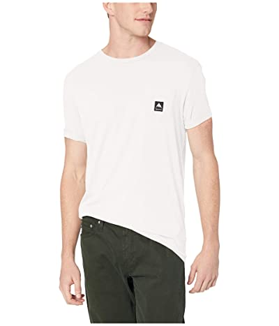 Burton Colfax Short Sleeve T-Shirt (Stout White) Clothing