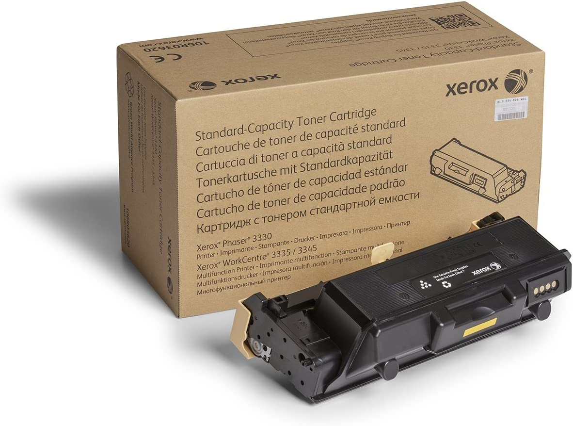 Xerox Phaser 3330/Workcentre 3335/3345 Black Standard Capacity Toner-Cartridge (2,600 Pages) - 106R03620