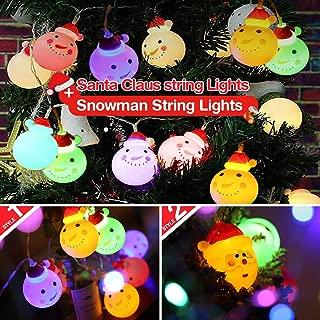 Best santa string lights Reviews