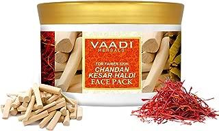 Vaadi Herbals Face Pack, Chandan Kesar and Haldi, 600g