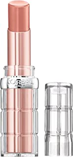 L'Oreal Paris Makeup Colour Riche Plump & Shine Lipstick, for Glossy, Radiant, Visibly Fuller Lips with an All-Day Moisturized Feel, Coconut Plump, 0.1 oz.