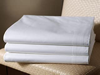 Westin Ultra Luxe Flat Sheet - Soft, Luxurious 600 Thread Count Cotton Top Sheet - White - King