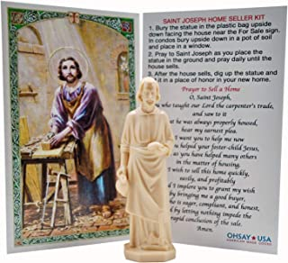 St. Joseph Home Seller Kit - Made in USA - Sold by Vets – Custom Prayer Card Included